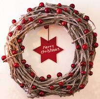 Coroa de Natal personalizada
