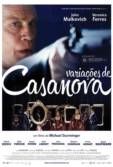 Poster do filme Variações de Casanova