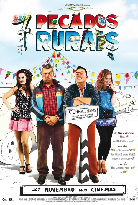 Poster do filme 7 Pecados Rurais