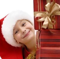 criança presentes natal