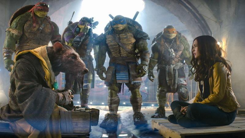 e-Cinema: As Tartarugas Ninja estão de volta ao cinema