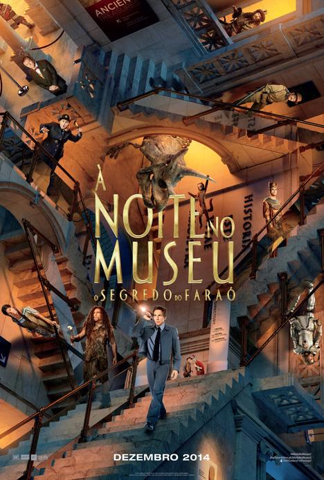 Capa do filme: «À Noite no Museu: O Segredo do Faraó»