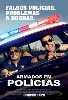 Capa do filme: Armados em Polícias