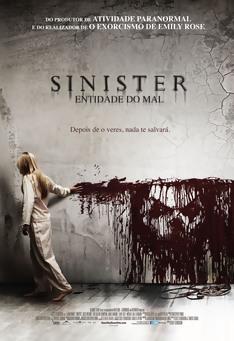 Poster de «Sinister - Entidade do Mal »