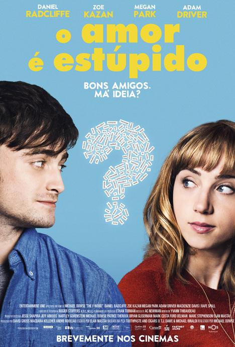 Capa do filme: «O Amor é Estúpido»