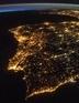 Foto de Portugal do Espaço
