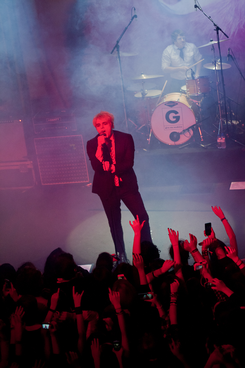Gerard Way no Armazém F