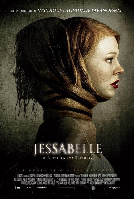 Capa do filme: «Jessabelle: A Revolta do Espírito»