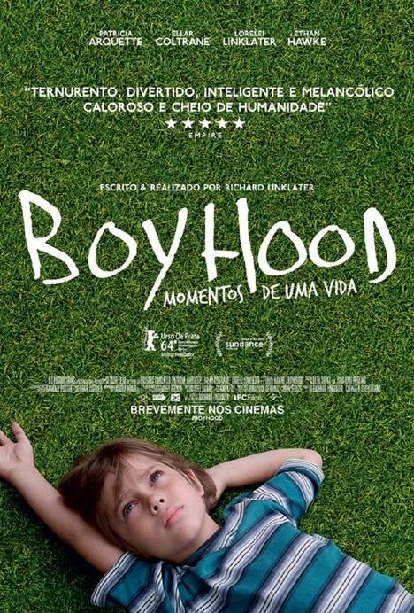 Capa do filme: «Boyhood - Momentos de uma Vida»