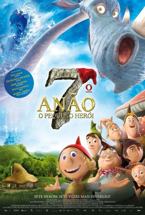 Capa do filme: «7.º Anão – O Pequeno Herói»