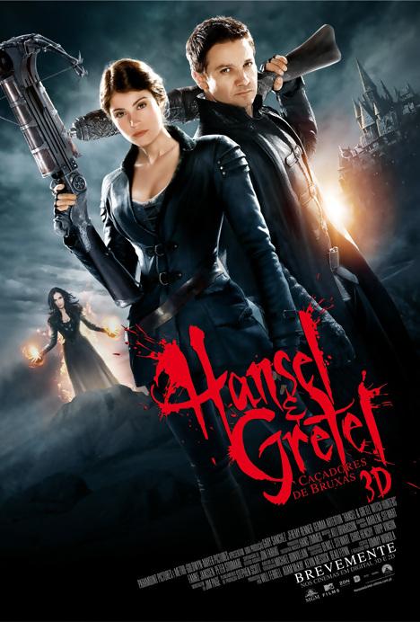 Poster do filme Hansel e Gretel: Caçadores de Bruxas