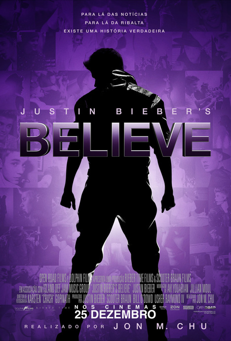 Poster do filme Justin Bieber's Believe