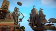 Imagem Columbia de Bioshock Infinite em Minecraft