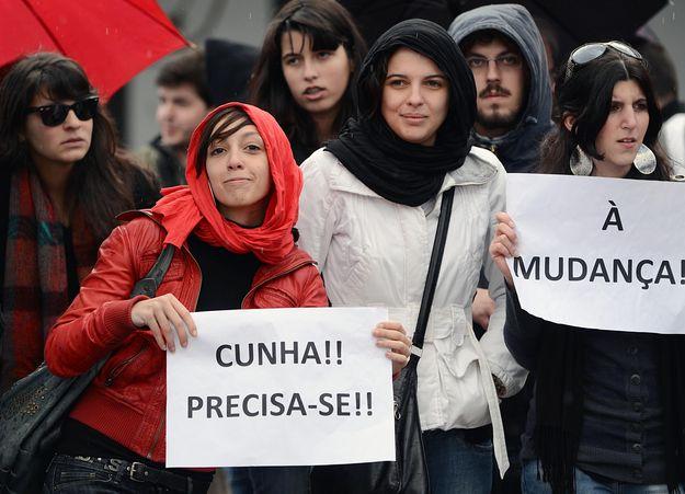 """Protesto da """"Geração à rasca"""""""