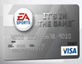 Imagem EA Sports com cartão de débito