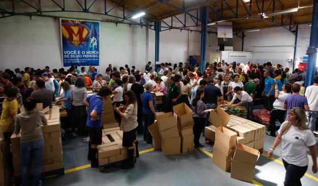 Na última campanha online, que decorreu de 24 de maio a 03 de junho, o Banco Alimentar recolher 72,5 toneladas de alimentos, num valor global de 77.440 euros.