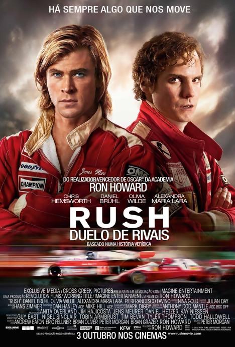 Poster do filme Rush - Duelo de Rivais