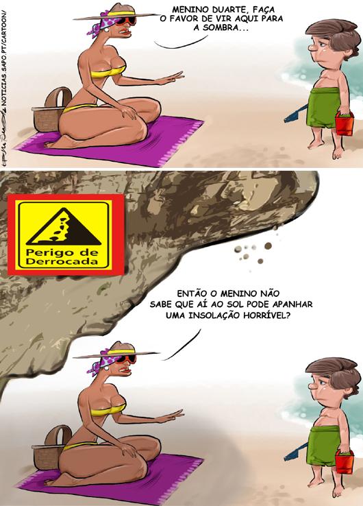 Perigos da praia
