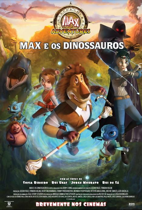 Poster do filme Max e os Dinossauros