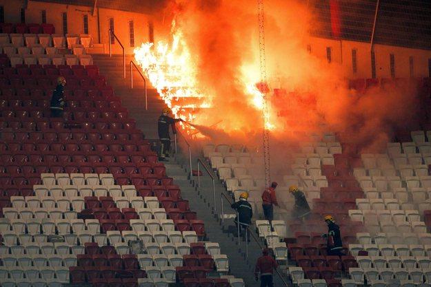 Incêndio no Estádio da Luz