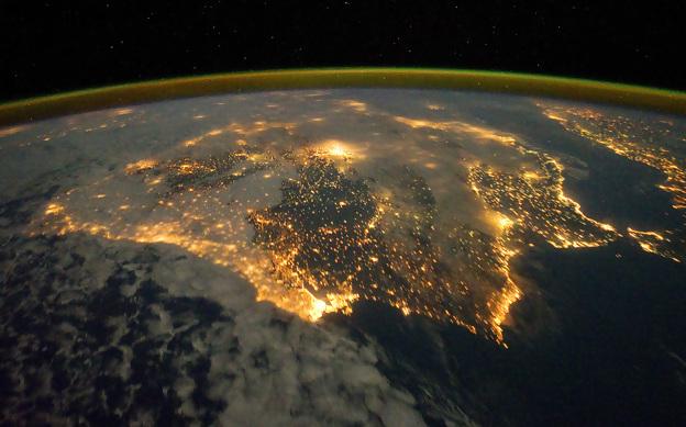 NASA dedica imagem do dia à Península Ibérica
