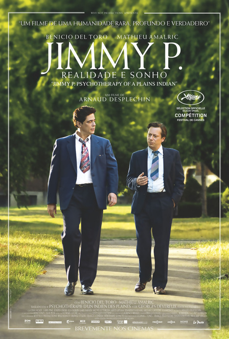 Capa do filme: «Jimmy P.»