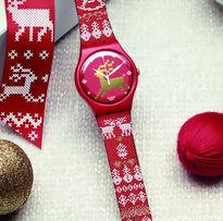 Swatch lança relógio especial de Natal