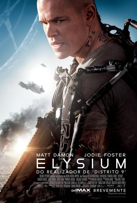 Poster do filme Elysium IMAX)