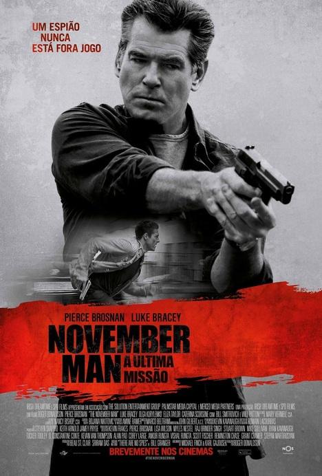 Poster do filme November Man - A Última Missão