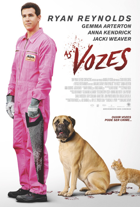 Capa do filme: «As Vozes»
