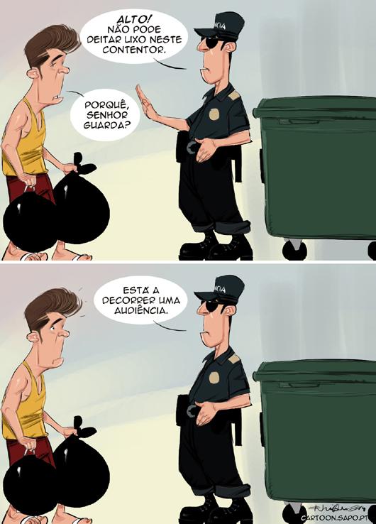Cartoons - A reforma da justiça