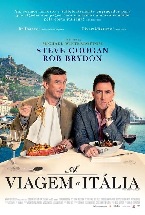 Capa do filme: «A Viagem a Itália»