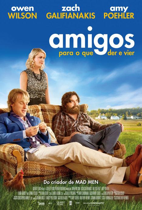 Capa do filme: «Amigos para o que der e vier»