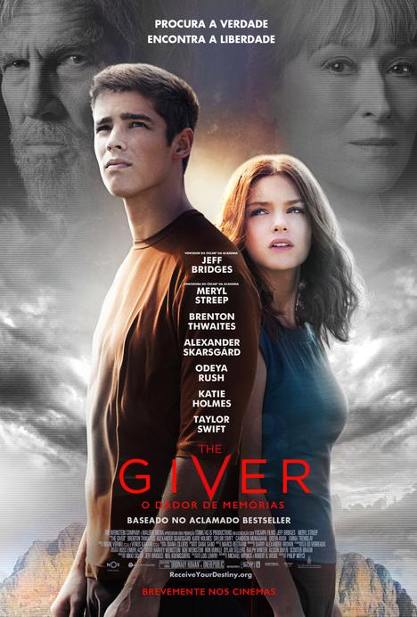 Poster do filme The Giver - O Dador de Memórias