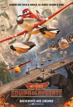 Capa do filme: Aviões - Equipa de Resgate
