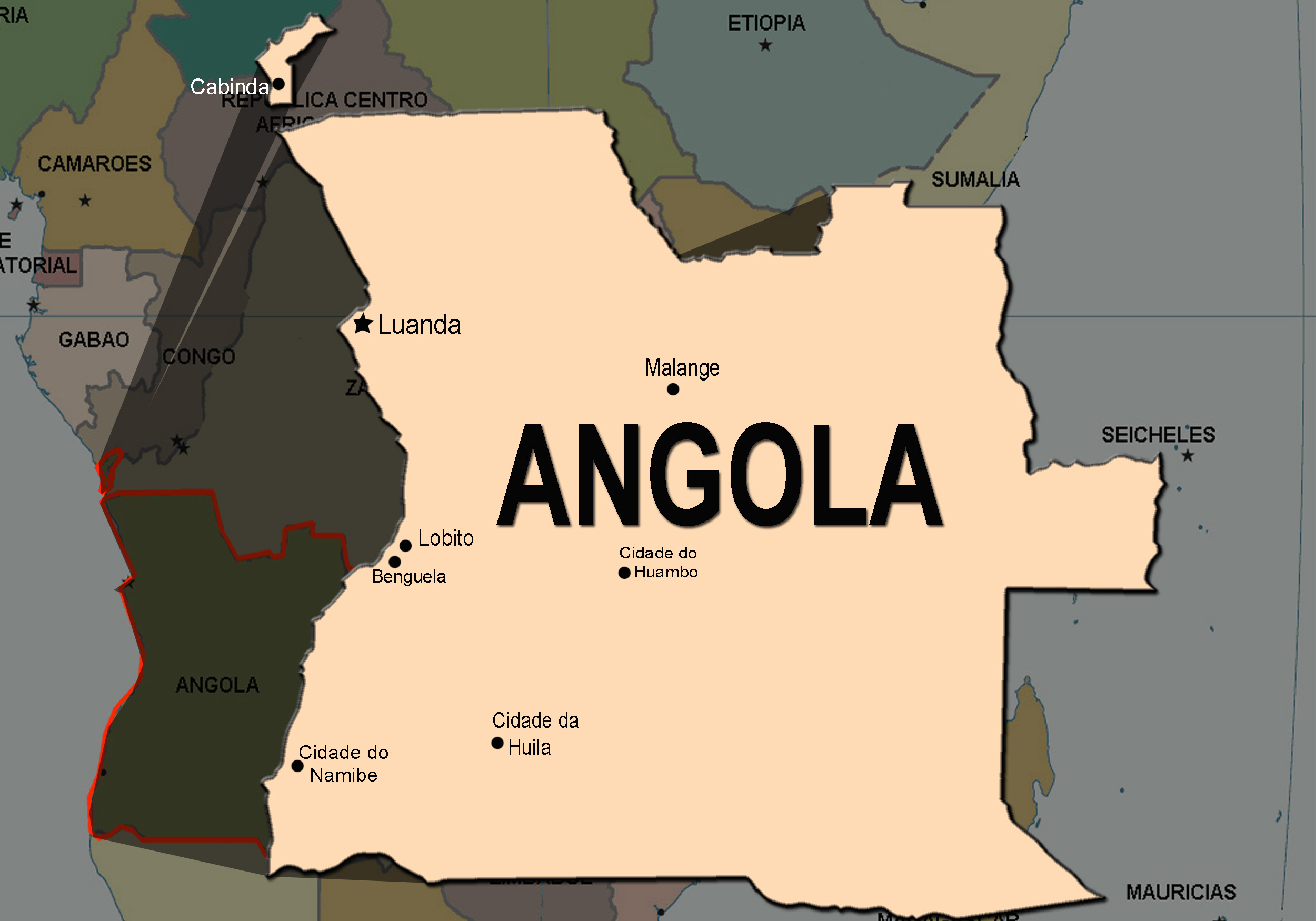 Independentistas de Cabinda reivindicam ataque que matou militares angolanos