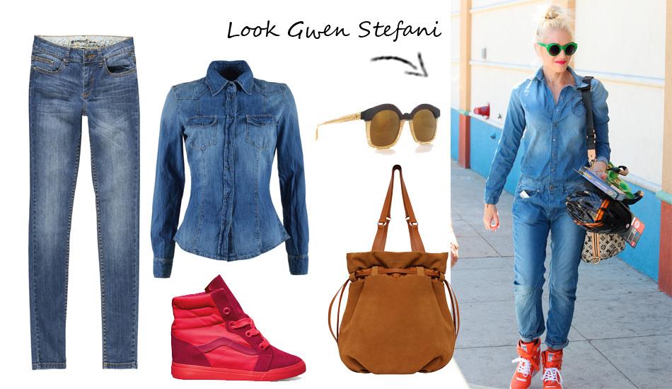 Copia o look de Gwen Stefanni