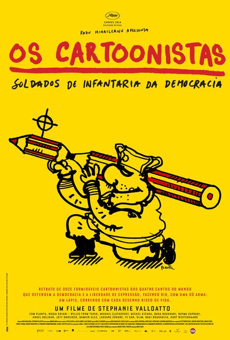Poster do filme Os Cartoonistas - Soldados de Infantaria da Democracia