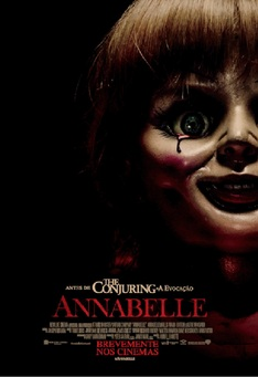 Capa do filme: Annabelle