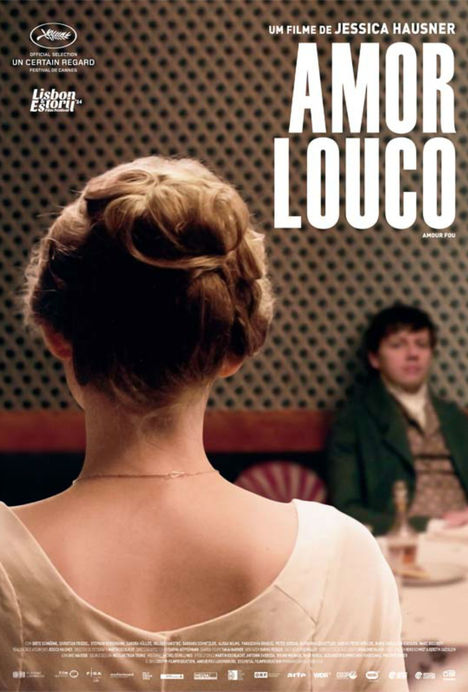 Capa do filme: «Amor Louco»