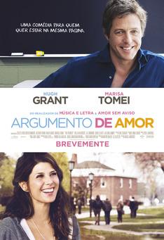 Capa do filme: Argumento de Amor