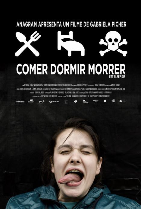 Capa do filme: «Comer Dormir Morrer»