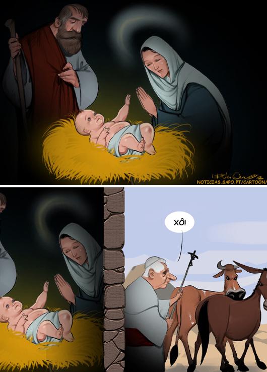 O Presépio 2º Bento XVI