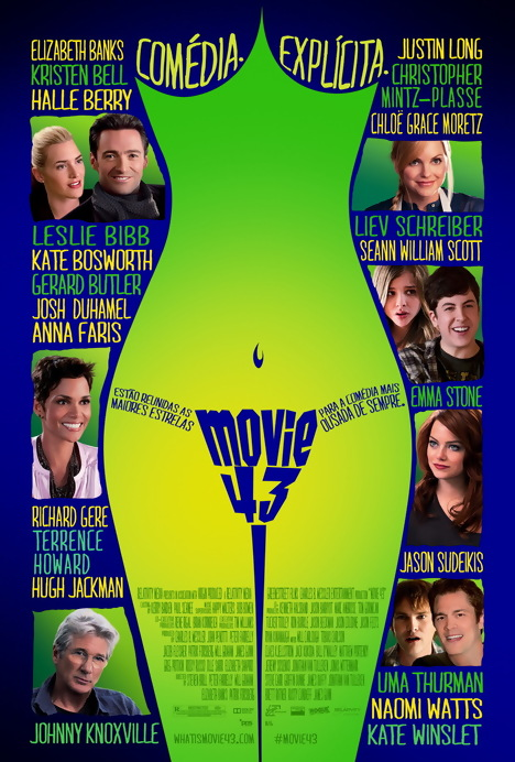 Poster do filme Comédia Explícita - Movie 43