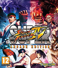 Street Fighter IV Arcade Edition cover