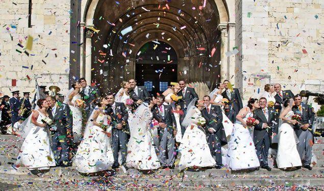 Casamentos de Santo António nasceram em 1958