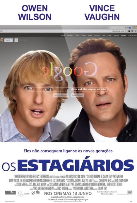 Poster do filme Os Estagiários