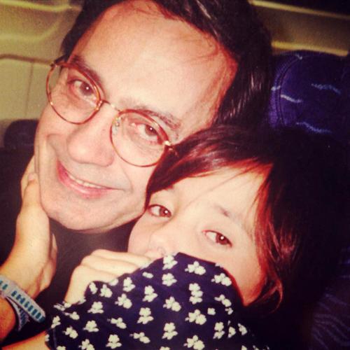 Marta Cruz com saudades do pai