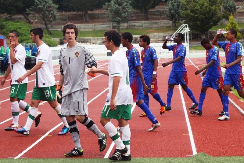 Futebol/Jogos CPLP: Selecção sub-16 de Cabo Verde inicia estágio de preparação no Estádio Nacional