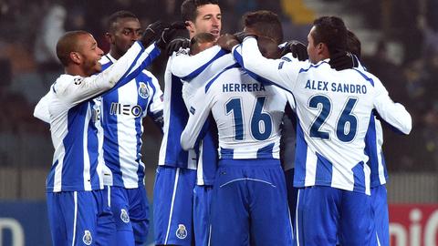 FC Porto &quote;abateu&quote; bielorrussos em ambiente gelado